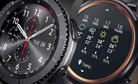 Comparativa: Asus ZenWatch 3 vs Samsung Gear S3