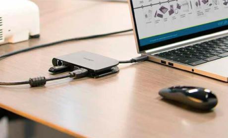 Kensington amplía la conectividad de los puertos USB Tipo C