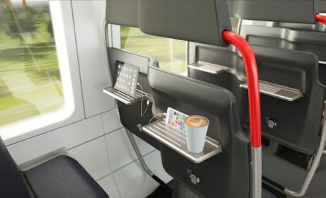 asientos tren metro
