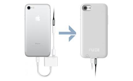 Esta carcasa para iPhone 7 le devuelve el jack de audio
