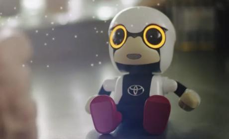 Kirobo Mini, el robot de Toyota que hace compañía