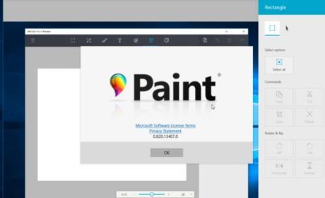Disponible la versión previa del nuevo Paint para Windows 10