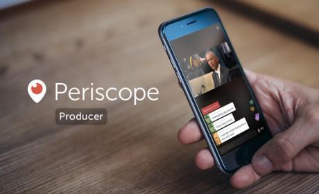 Periscope Producer, un sistema pensado para profesionales