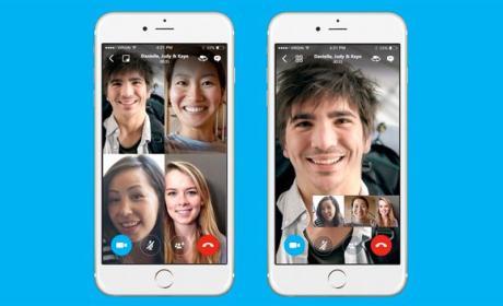 Skype videollamada grupal