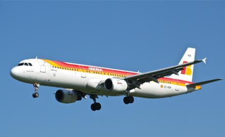 Avión Iberia