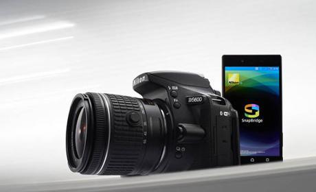 Nikon D5600, presentada nueva cámara siempre conectada
