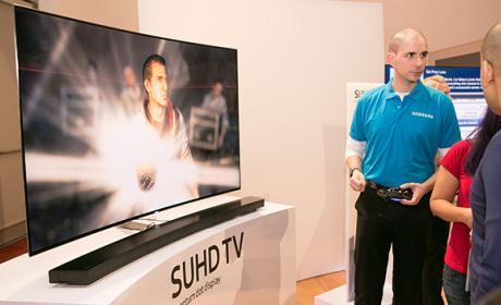Televisión holográfica de Samsung