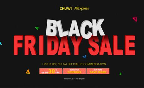 Black Friday de Chuwi con los mejores precios en sus tablets