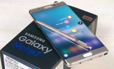 Samsung Galaxy Note 7 sólo cargará la batería al 30% desde diciembre