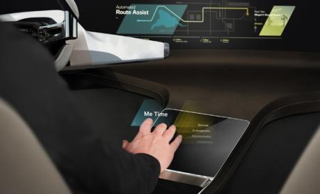 Los hologramas táctiles en los que trabaja BMW