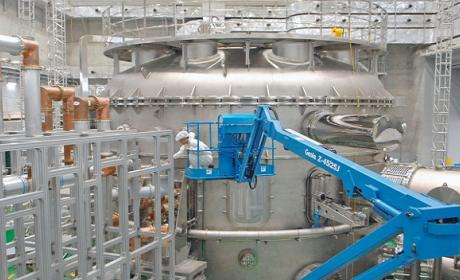 Baten récord de rendimiento de reactor de fusión