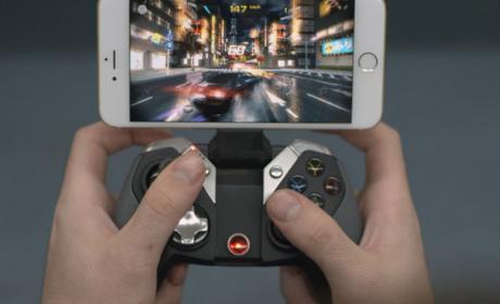 mando iphone videojuegos