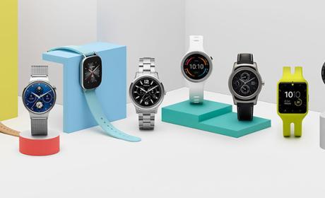 Dos nuevos relojes inteligentes de Google, en 2017