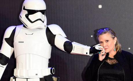 Fallece Carrie Fisher, la princesa Leia de Star Wars