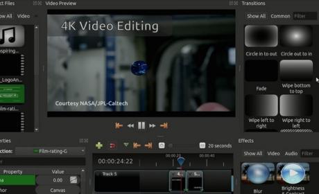 Openshot, el editor de vídeos 4K gratuito