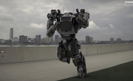 El robot gigante Method 2 de Corea del Sur
