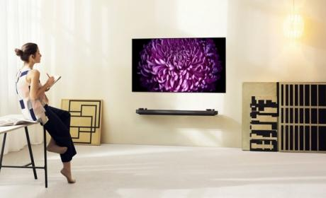 Nuevos televisores LG Super UHD y LG Signature OLED W en CES 2017