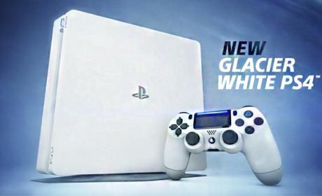 Así es la PS4 Glacier White, el modelo Slim en blanco