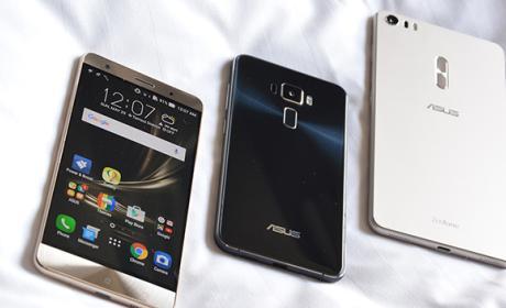 Los nuevos Asus Zenfone 4, listos para mayo
