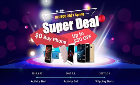 Bluboo celebra el Año Nuevo chino regalando 50 móviles