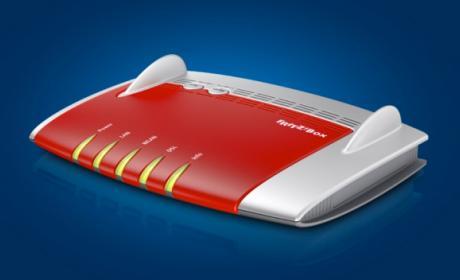 Imagen: nuevo router Fritz!Box 7560 con WiFi AC Dual de Fritz!