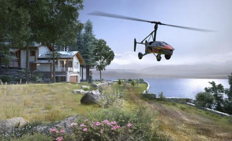 Imagen del PAL-V, el primer coche volador
