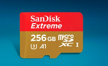 sandisk microsd 256gb