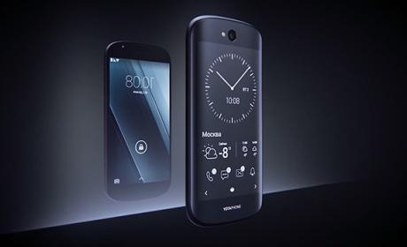 Yotaphone, el teléfono de las dos pantallas, ultima su regreso