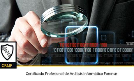 Certificado profesional de análisis informático forense