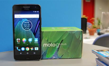 Unboxing en vídeo del Moto G5 Plus