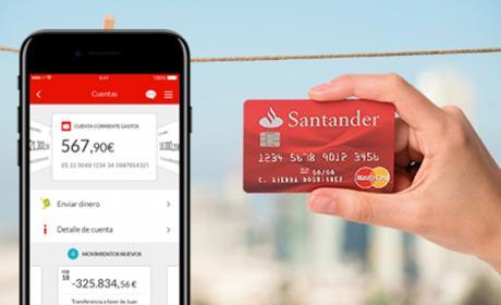 Santander empieza a permitir retirar dinero de los cajeros sin tarjeta, solamente con el móvil