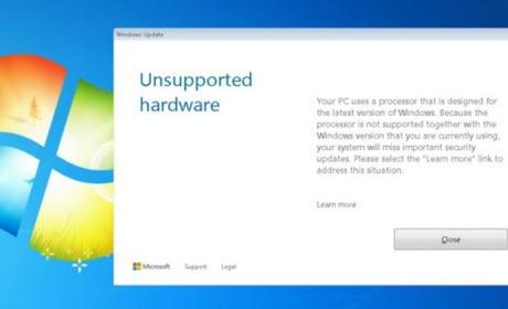 Windows 7 y 8 ya no se actualizan con una CPU Kaby Lake o AMD Ryzen