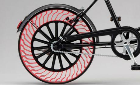 Ruedas sin aire para bicicletas.