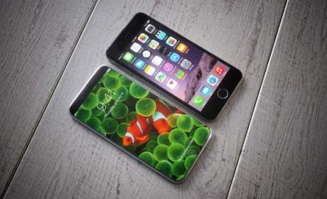 La pantalla sin marcos podría no ser una de las características del iPhone 8.