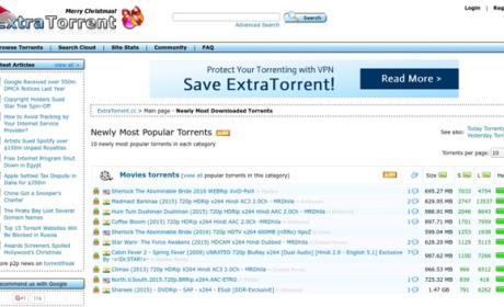 ExtraTorrent ha cerrado
