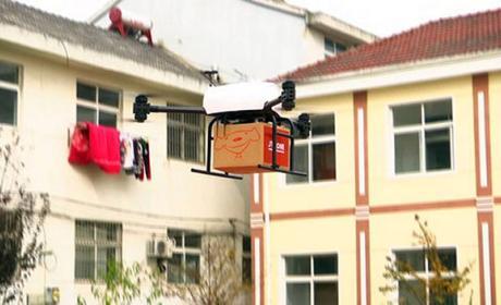 drones reparto una tonelada