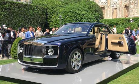 Rolls Royce Sweptail apunta a ser el coche más caro del mundo