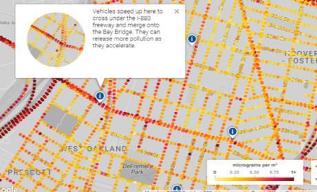 El nuevo proyecto de Google quiere mostrar la contaminación en tiempo real en Maps.