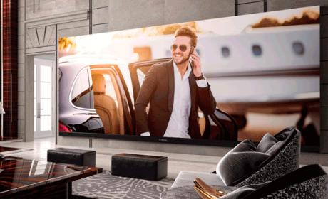 televisor 4k más grande del mundo