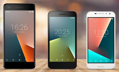 Vodafone presenta sus nuevos móviles Smart