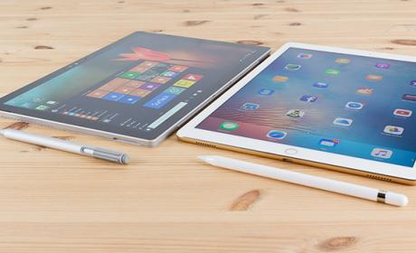 Microsoft cree que Apple les copia con el iPad Pro