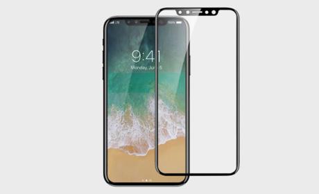 Protector de pantalla muestra el diseño del iPhone 8