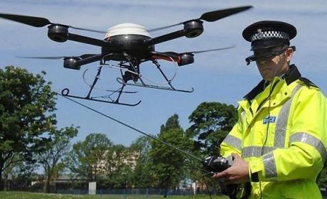 La policía podrá identificar a los drones mientras vuelan