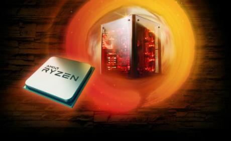 Comparativa de ventas entre procesadores AMD e Intel.