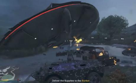 El misterio de los extraterrestres de GTA V.