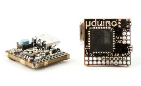 µduino, la placa Arduino más pequeña del mundo