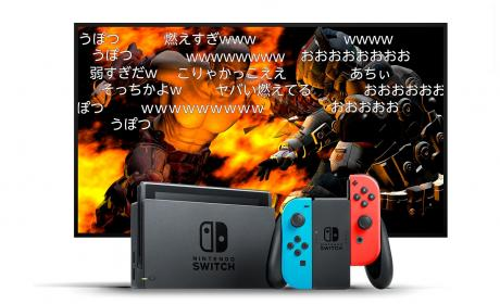 niconico, streaming Nintendo Switch