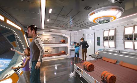 Este es el hotel de Star Wars en el que desearás alojarte