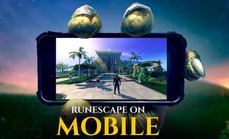 RuneScape, muy pronto disponible en móviles.