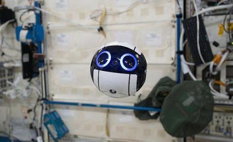 Int-Ball es el primer dron cámara diseñado para operar en el espacio
